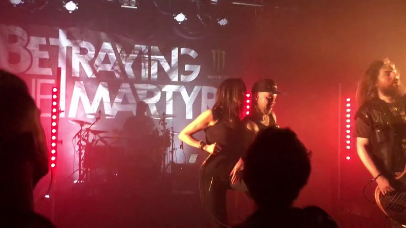 Betraying The Martyrs - The great disillusion (feat Rachel Aspe) Live @Cannes 2018