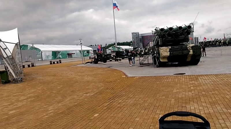 полдник в парк Патриот )