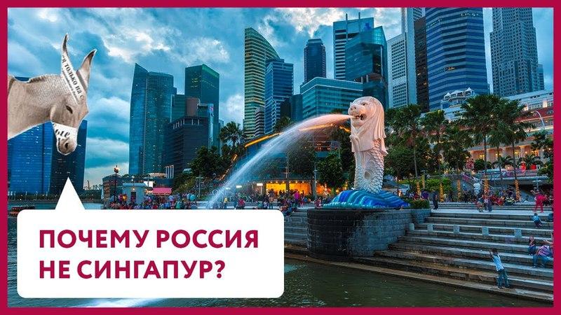 Почему Россия – не Сингапур? | Уши Машут Ослом 21 (О. Матвейчев)