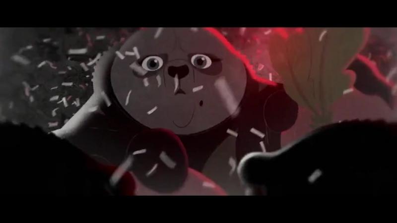 Малыш панда плачет Мини отрывок из Кунг фу Панда 2