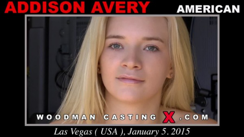 Блонди на кастинге у Вудмана Woodman Casting Addison Avery Casting X 140 Updated 2017