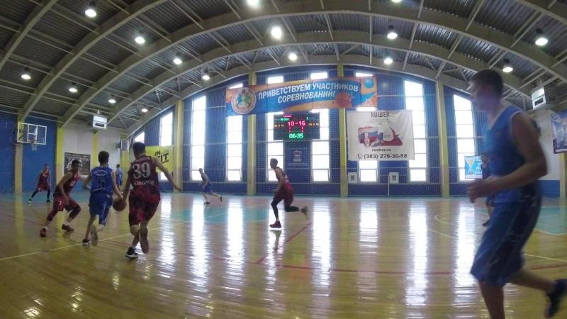 Юниор-Алтай баскет 2 период начало 2