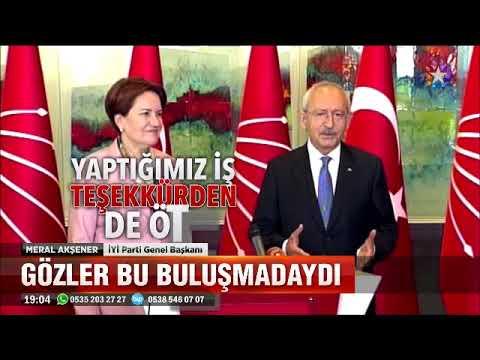 Meral Akşener CHP Ziyaretinde noktayı koydu 100 bin imza ile adayım