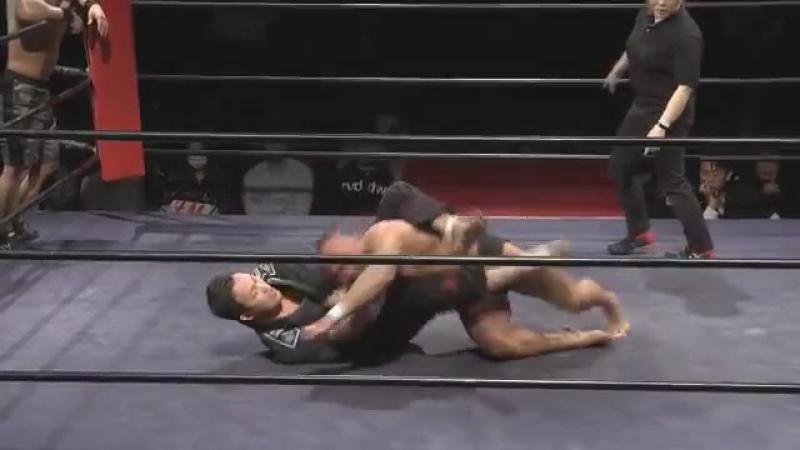 Taiji Ishimori, Nobuhiro Tsurumaki vs. Takatoshi Matsumoto, SUSHI (Hard Hit - Yes, We Are Hard Hit)