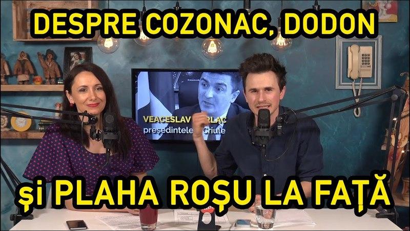 INTERNETU GRĂIEȘTE 18 - DESPRE COZONAC, DODON și PLAHOTNIUC ROȘU LA FAȚĂ