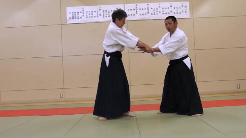 Ju Jutsu.Техника Такумакай Дайто Рю Айки Дзю Дзюцу.Урок от сэнсэя Ямомото -8.