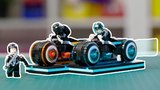 LEGO TRON Legacy Light Cycle Designer Video | Disney TRON: Legacy | LEGO Ideas #21314