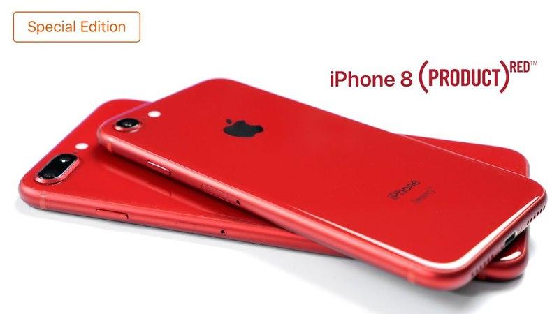 Распаковка iPhone 8/8 Plus (PRODUCT) RED Special Edition - социальный эксперимент » Freewka.com - Смотреть онлайн в хорощем качестве