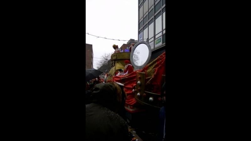 В Кёльне попали на карнавал)