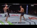 Justin Gaethje vs Eddie Alvarez fight Джастин Геджи против Едди Алвареза бой