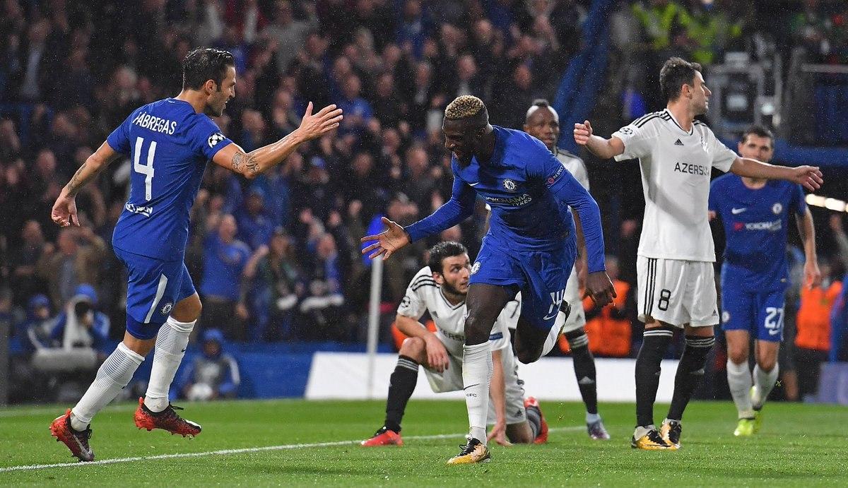 120. Chelsea FC (ENG) - Qarabağ FK  (AZE) 6:0
