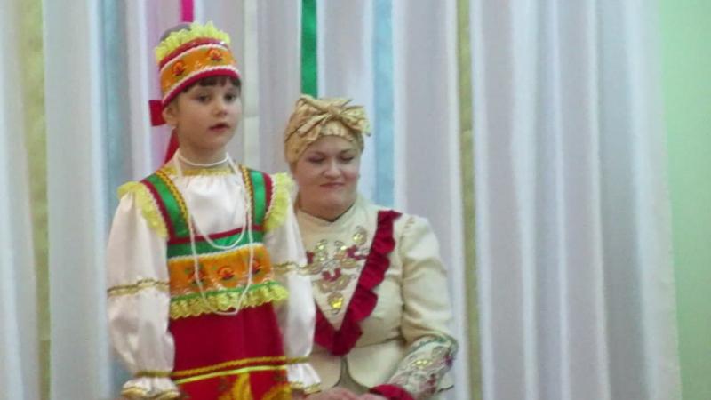 MVI 1485Мастер класс Русский сувенир в 95 детском саду г Омска