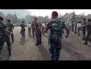 Танец солдат военно морских сил Индонезии оригинал Music Nyong Franco Gemu