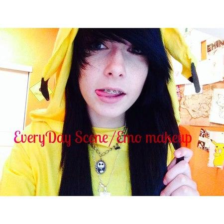 Everyday scene/emo makeup