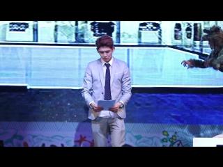 171014 Кун @ Мюзикл «I have a man» на  Кандонском фестивале доисторической культуры 2017