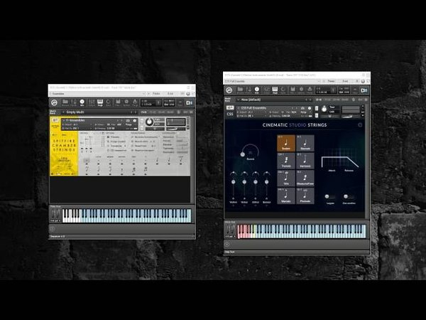 Spitfire Chamber Strings and Cinematic Studio Strings Ensemble patches