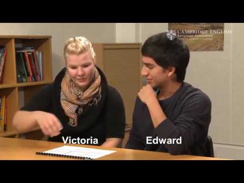 Smrithi English CAE Speaking Video 5