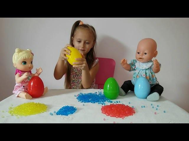 Английский язык для малышей Изучаем цвета вместе с Беби Бон и Беби Элайв Забавны...