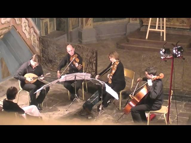 J.Haydn Quartett D-Dur con liuto (3. Adagio) V.Beer-Demander Trio à Cordes