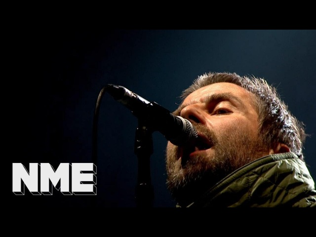 Liam Gallagher plays 'Greedy Soul' live | VO5 NME Awards 2018