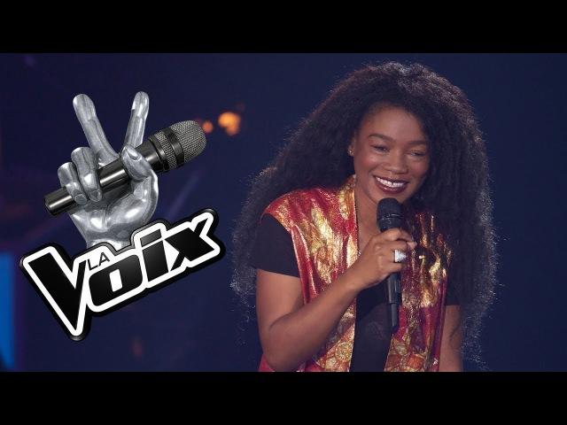 Шоу Голос Канада (Квебек) 2018. - Келли Бадо с песней Влюбляюсь. — The Voice Canada (Quebec)