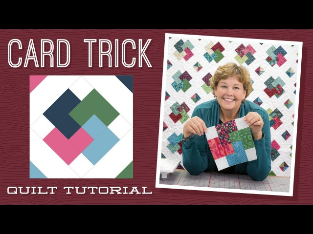 Make a Card Trick Quilt with Jenny!