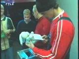 Backstreet Boys - Stars Aktuell - Meeting fans while on X-Mas Tour
