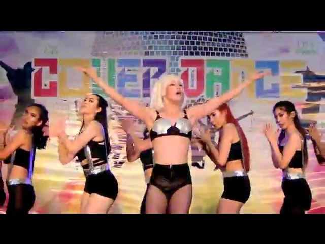 141122 Colors of Life cover Lady Gaga Bad Romance Poker Face Applause @I'm Park Final