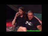 The Rock vs Big Show (lumberjack WWF title match)