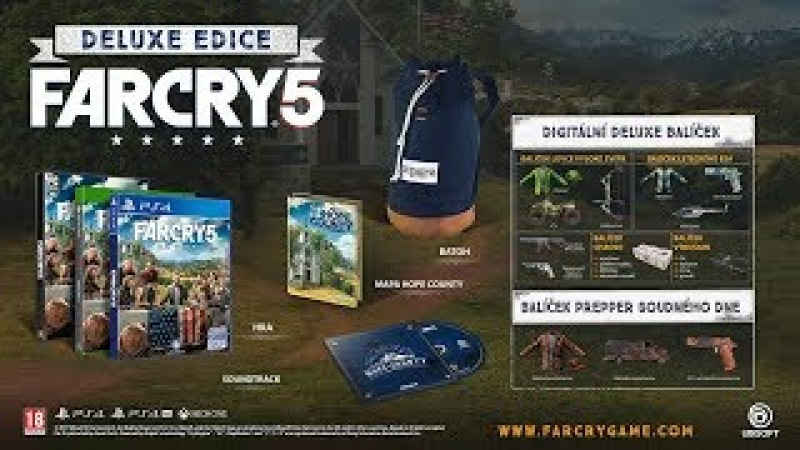 Far Cry 5 (Deluxe Edition) Ps4