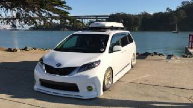Highly Modified 2015 Toyota Sienna SE Walkaround Interview | Vankulture | San Francisco