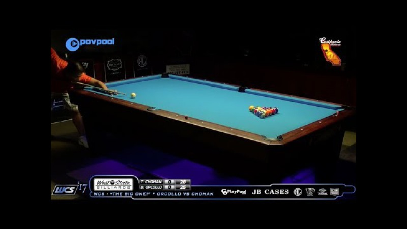 **POV POOL * MUST SEE*** Tony CHOHAN - Jump KickBank - AMAZING SHOT!