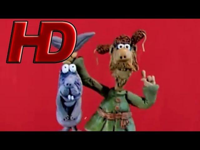 Падал прошлогодний снег в HD качестве 😀🍭😁(1983) Пластилиновый мультик ⭐🍬⭐| Золотая коллекция