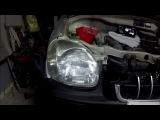 Hyundai Atos  хендай атос как снять фару