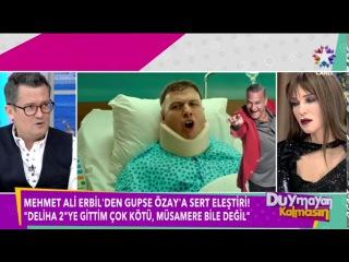 Mehmet Ali Erbil'den Cem Yılmaz ve Gupse Özay'a Sert Sözler Deliha 2 için Müsamere Dedi