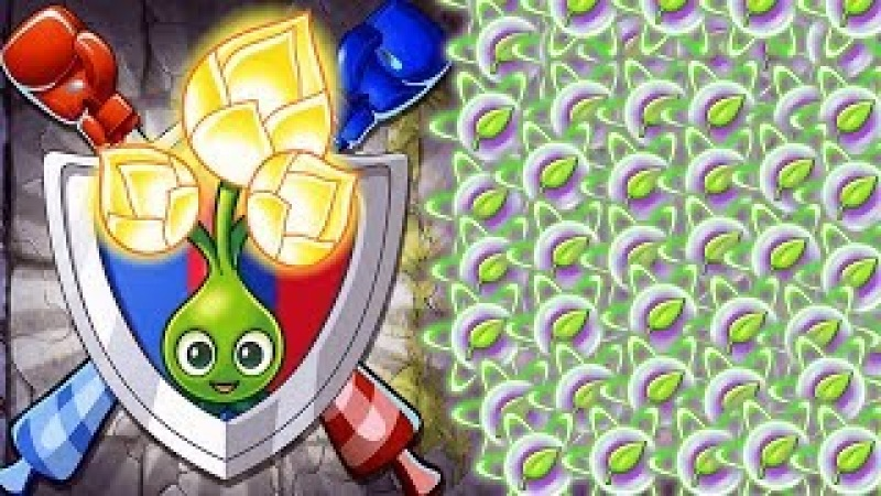 Plants vs Zombies 2 BattleZ -The Ultimate Homing Thistle Straight Path Attack