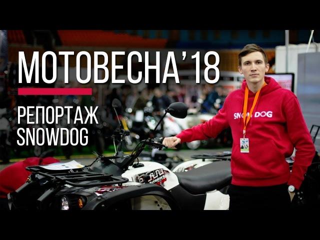 Новый квадроцикл Baltmotors ATV 500 EFI. Репортаж с Мотовесны