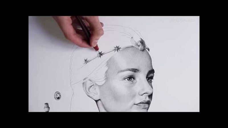 Astrée - 3 Million Dots - Speed Drawing