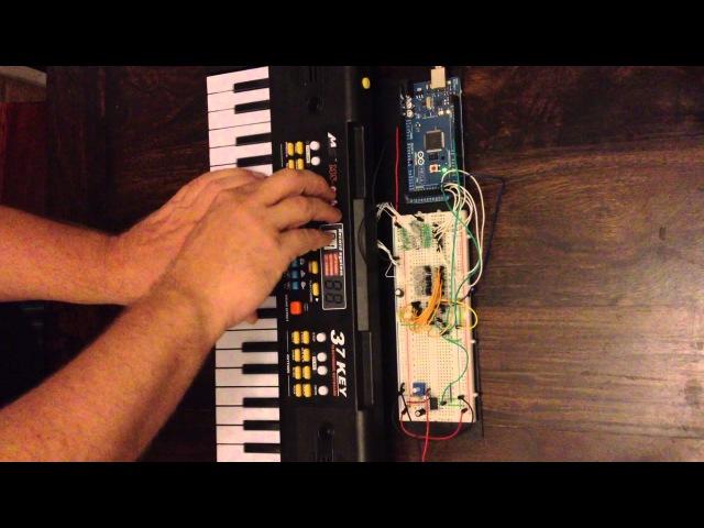 Arduino Synth - 5 Dollar Keyboard