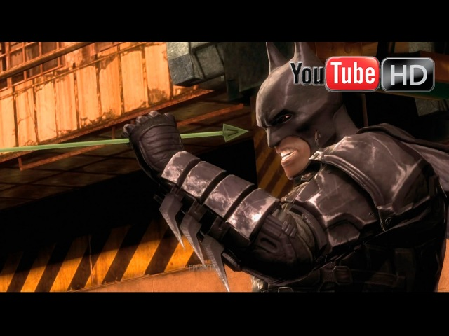 Injustice: Gods Among Us 【PS4】 - ✪ Batman Vs Green Arrow ✪ | Story Mode Cinematics HD