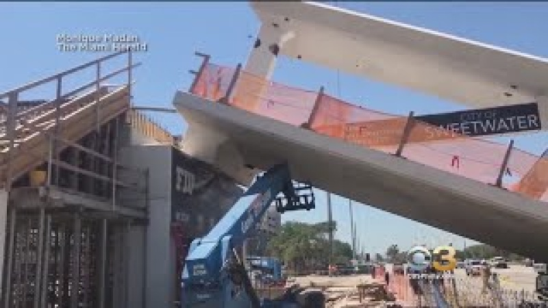 6 Dead 9 Injured After Newly Installed Pedestrian Bridge Collapses At Florida International Univers