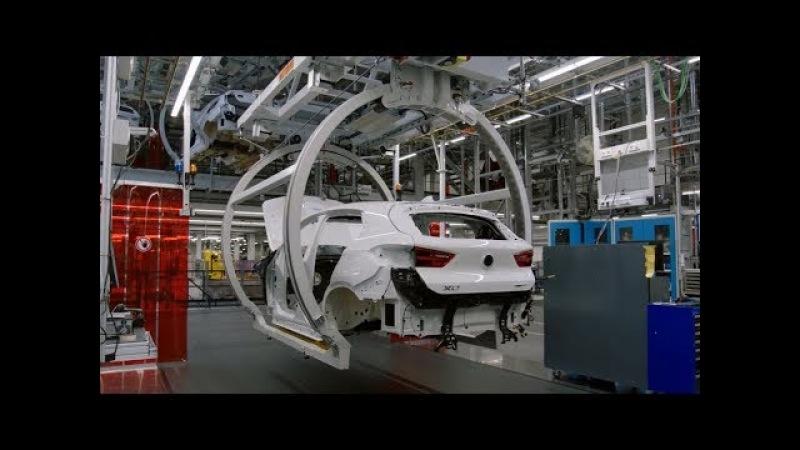 Так собирают Ваш БМВ Х2. Assembling Your car BMW X2