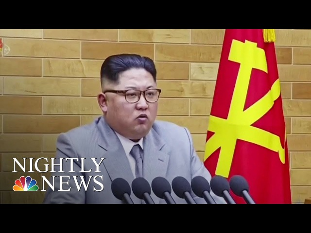 North And South Korea To Begin High-Level Talks | NBC Nightly News