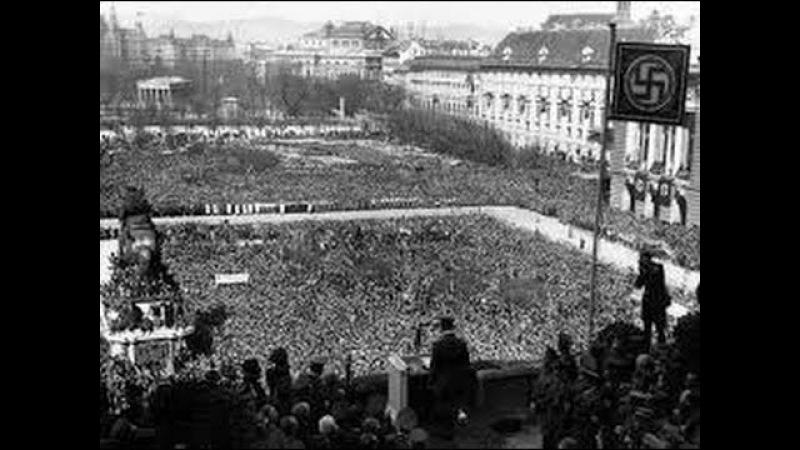 Adolf Hitler Unifies Austria Germany Speech 1938