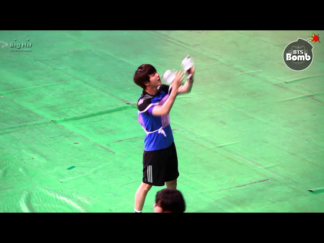 BANGTAN BOMB Cheerleader jin with ARMY Bomb ─○
