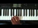 Гита Вара Вина на синтезаторе