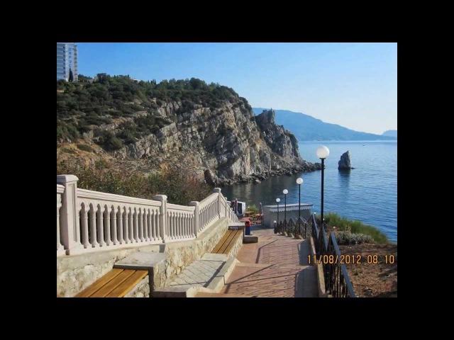 Незабываемый отдых на побережье Крыма в 2012 году