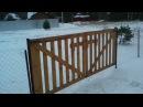 Ворота для дачи своими руками– дешево и сердито!