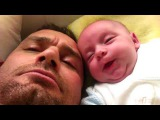 Funny Baby Farting - 2 Weeks Old