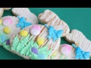 Easter Bunny Mixed Media  Cookie Decorating - How to make Easter cookies